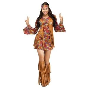 Peace Love And Hippie Halloween Costume